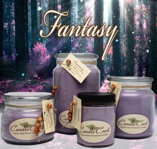 Fantasy Candles by Candle Crest Soy Candles