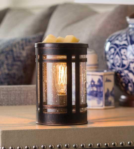 Mission Vintage Edison Bulb Tart Warmer by Candle Crest
