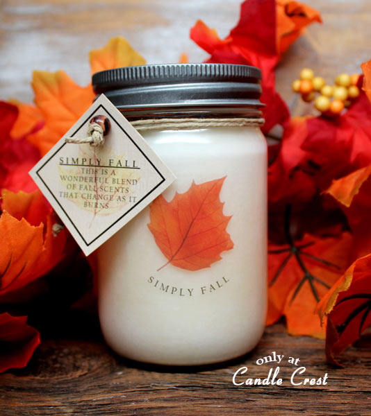Simply Fall - Limited Edition - Fall Candle by Candle Crest
