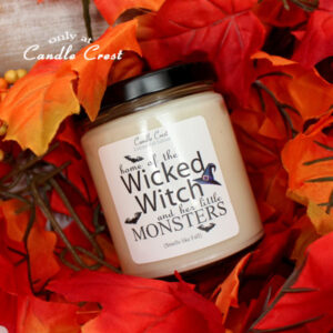 Wicked Witch Fall Candle by Candle Crest